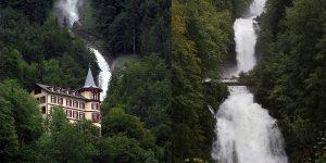 Air Terjun Giessbach, Swis