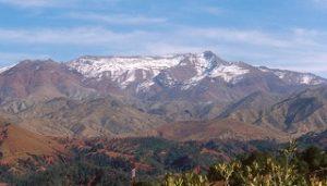 pegunungan di Afrika