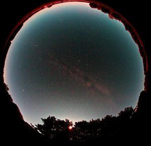 meteor draconid2